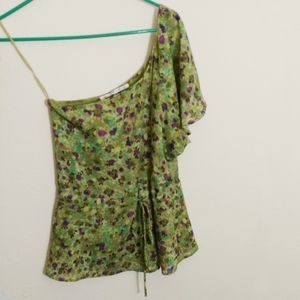 Small Collective Concepts One Shoulder Blouse